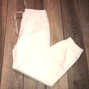 Theory Pants - THEORY || NWOT cream cortlandt relaxed chino capri